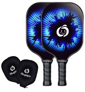 Niupipo Graphite Pickleball Paddle (Set Of 2)