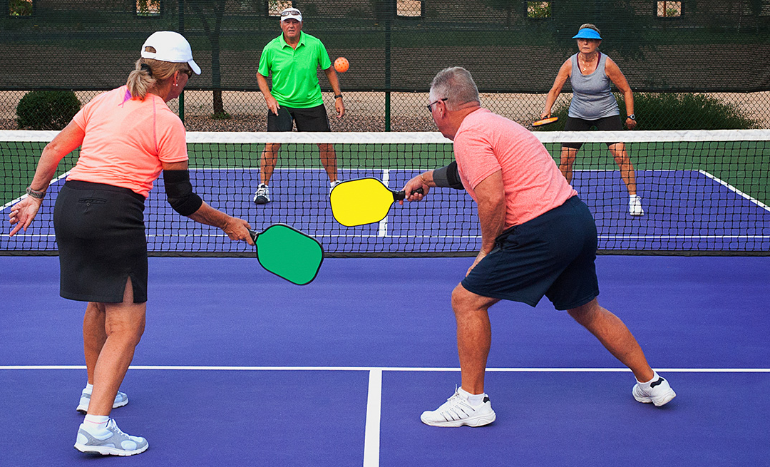 health benefits of pickleball